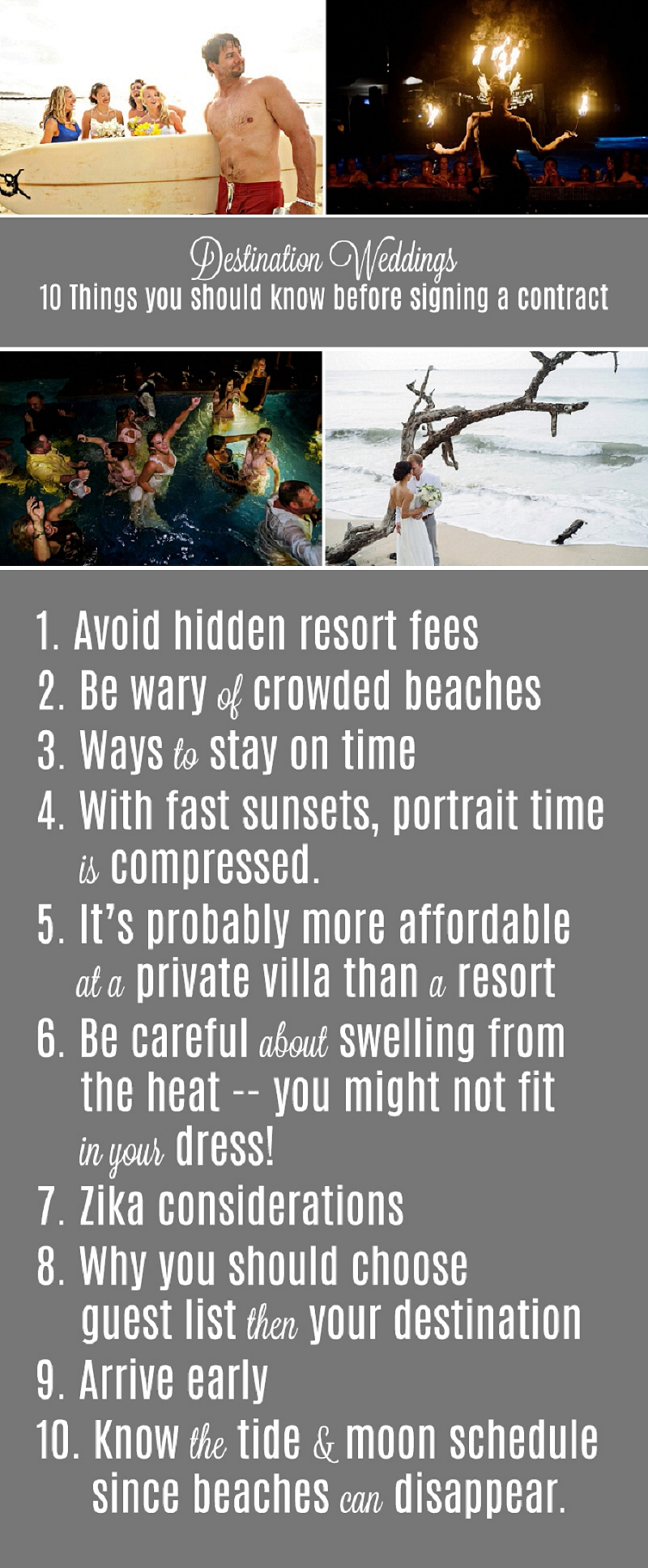 destination wedding 10 things you should know before signing a contract