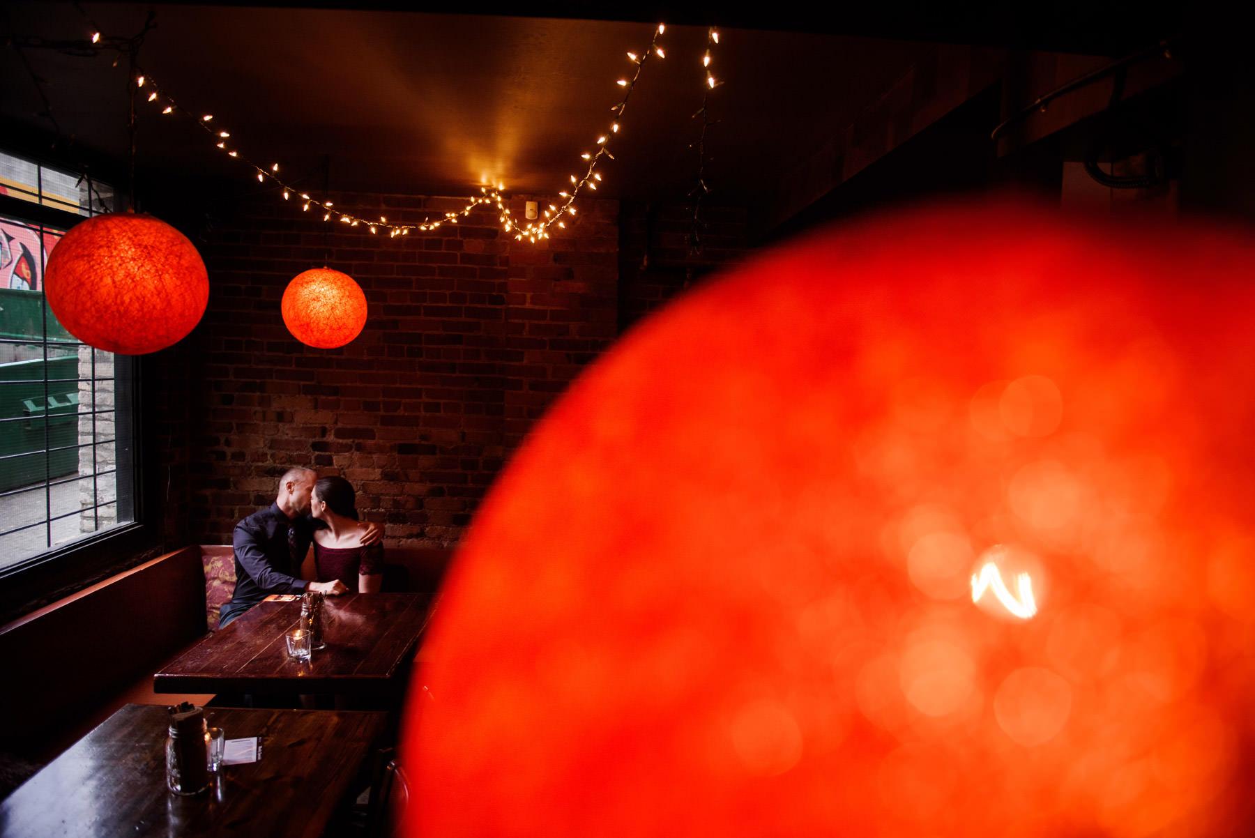 Engagement Portraits Downtown Victoria BC