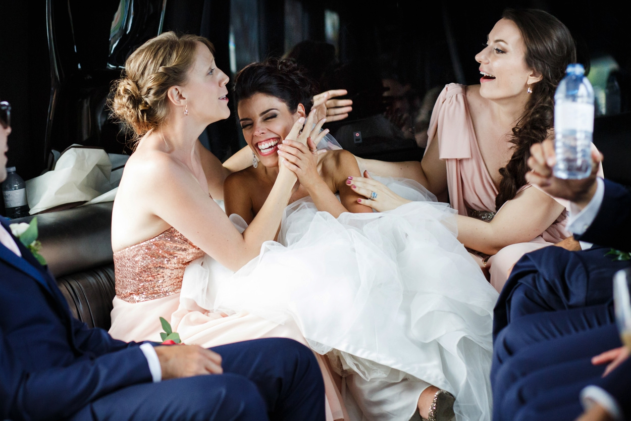 LA Limos wedding photography // FunkyTown Wedding Photography Victoria BC