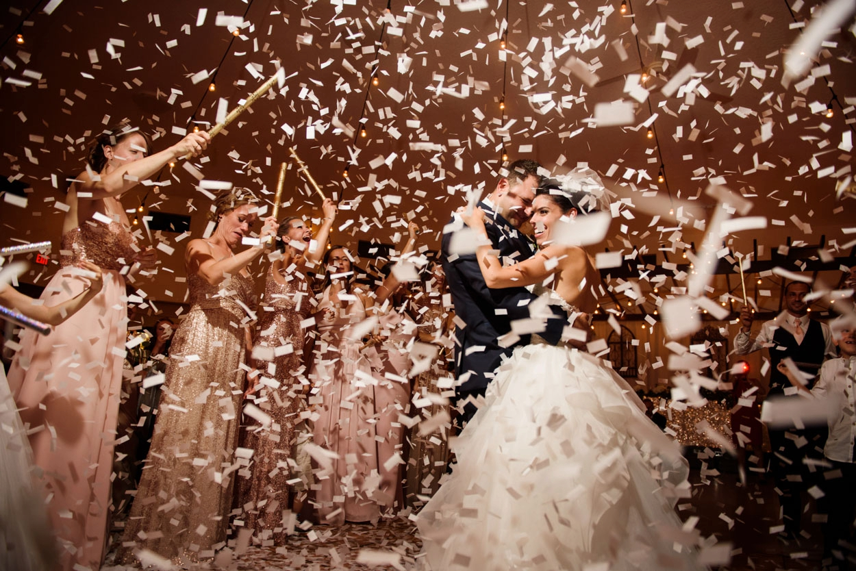 Confetti Bombs // FunkyTown Wedding Photography Victoria BC