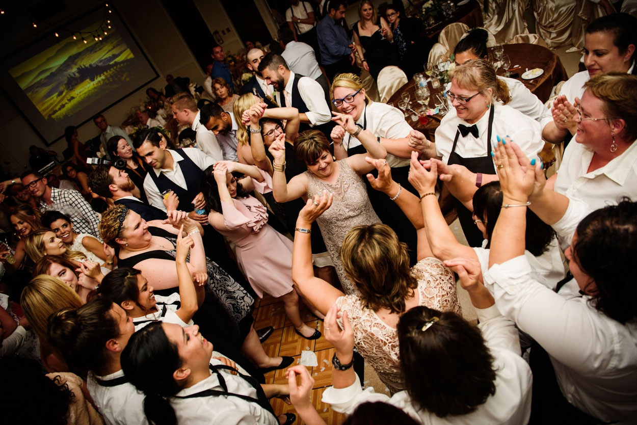 Greek Wedding Reception Victoria BC