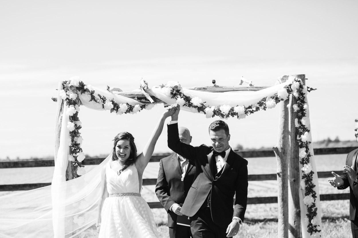 Nicole & Jamie's Wedding held at the barn Roddick's Farm // Delta, British Columbia // Victoria & Vancouver Wedding Photographers FunkyTown Photography // www.funkytownphotography.com