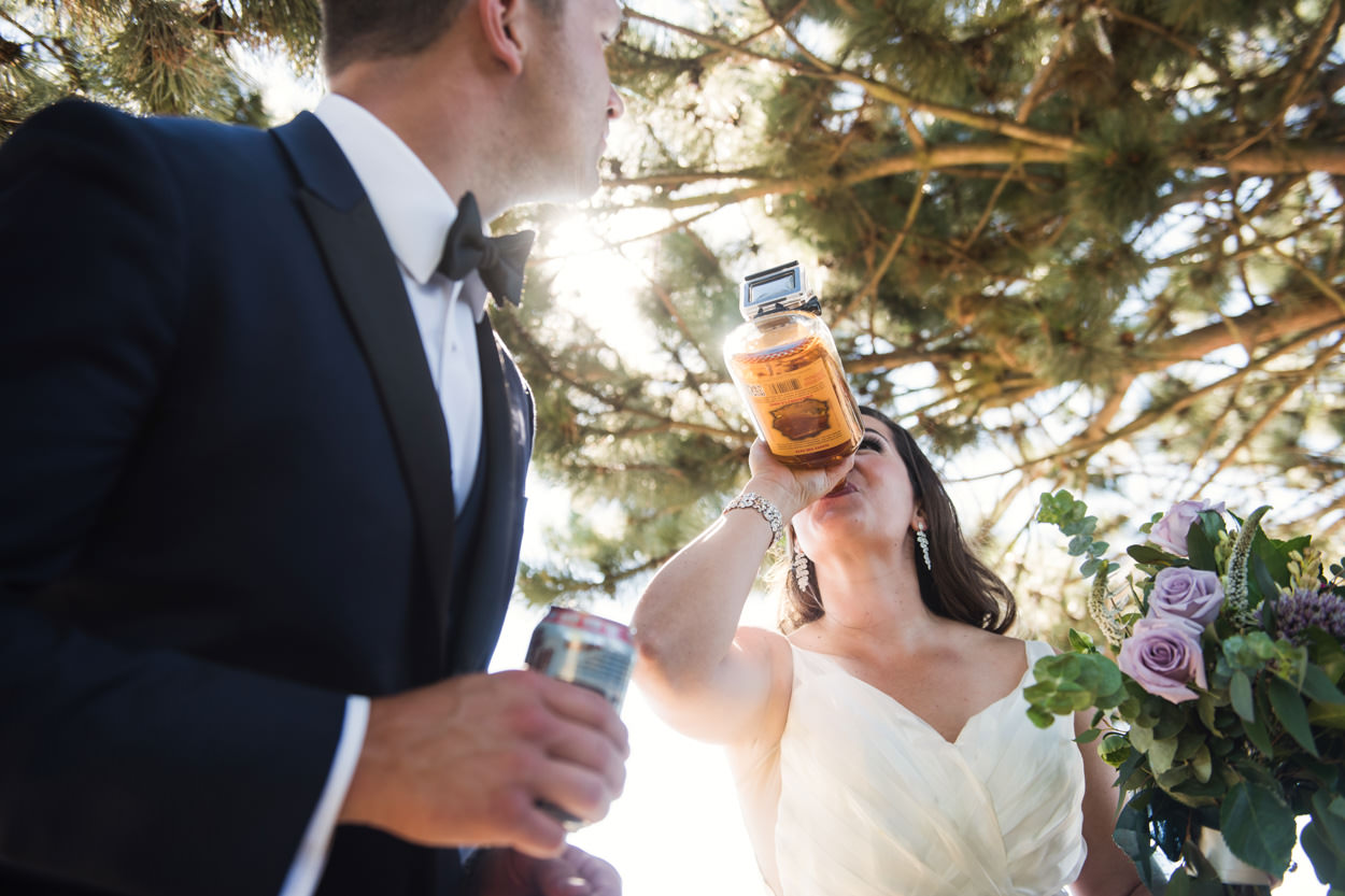 Alcohol gopro camera // Nicole & Jamie's Wedding held at the barn Roddick's Farm // Delta, British Columbia // Victoria & Vancouver Wedding Photographers FunkyTown Photography // www.funkytownphotography.com