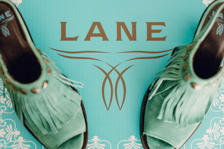 Lane Wedding Shoes Cowgirl - Photo by FunkyTown Photography