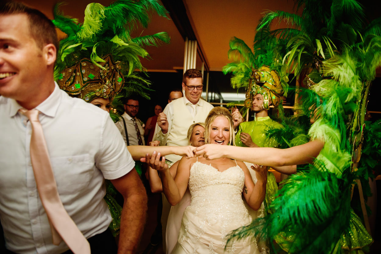 Sandie & Tony's Casa Fantastica Wedding in Costa Rica // Photos by FunkyTown Photography
