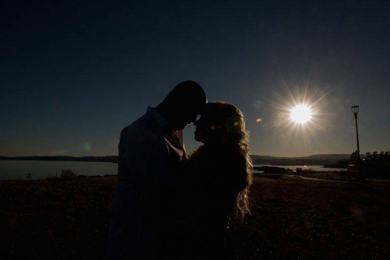 Macaulay Point Park Engagement Portraits in Victoria BC by FunkyTown Photography
