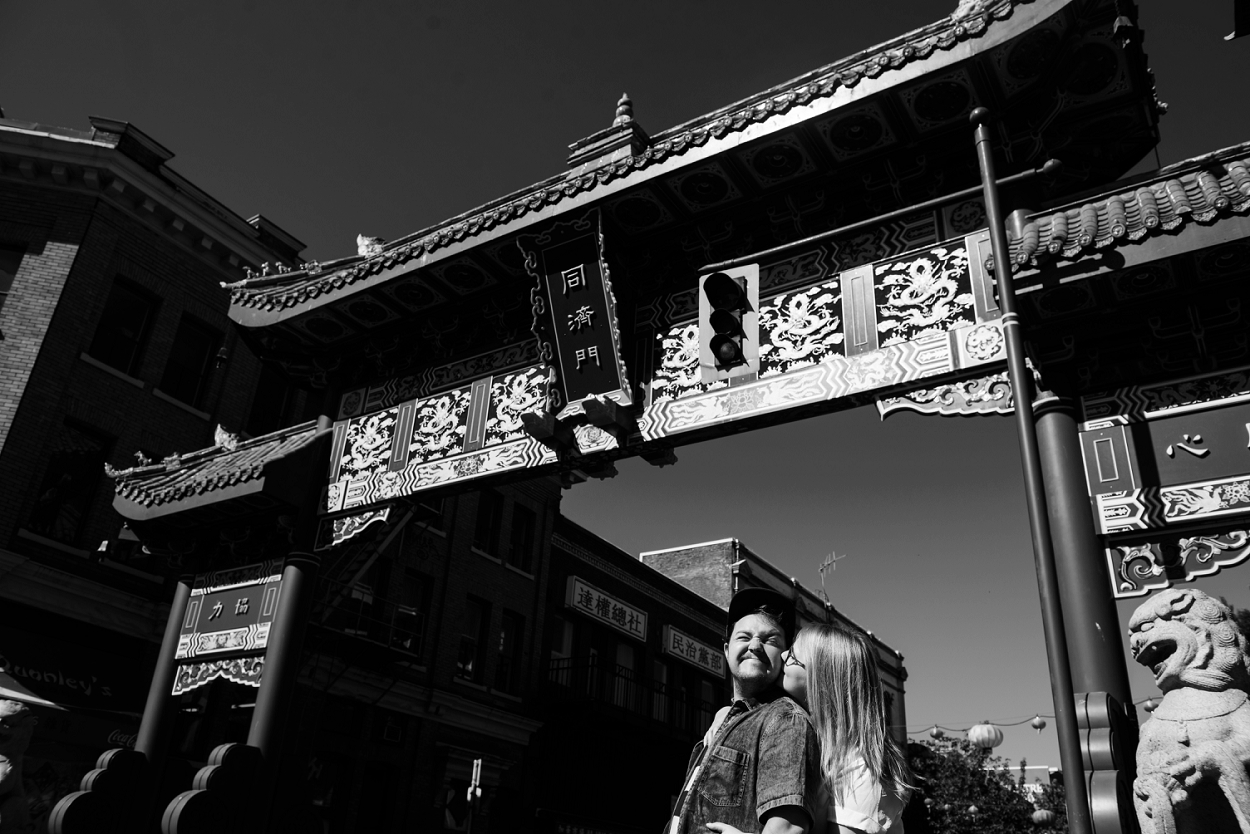 Engagement Portraits ChinaTown and Fan Tan Alley Victoria by FunkyTown Photography http://www.funkytownphotography.com