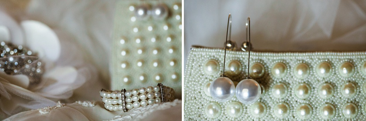 Pearls Garden backyard wedding in Victoria BC by FunkyTown Photography