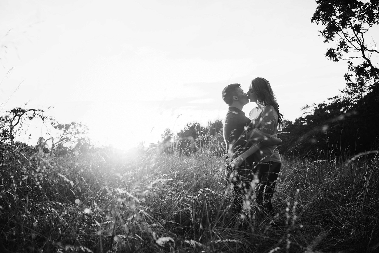 Dallas Road Mile Zero Engagement Portraits in Victoria by FunkyTown Photography