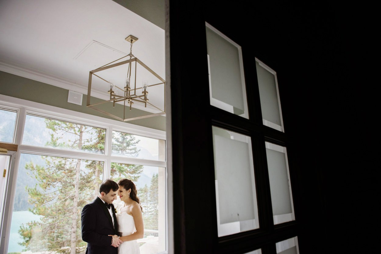 Chateau Lake Louise Wedding Photographers FunkyTown Photography