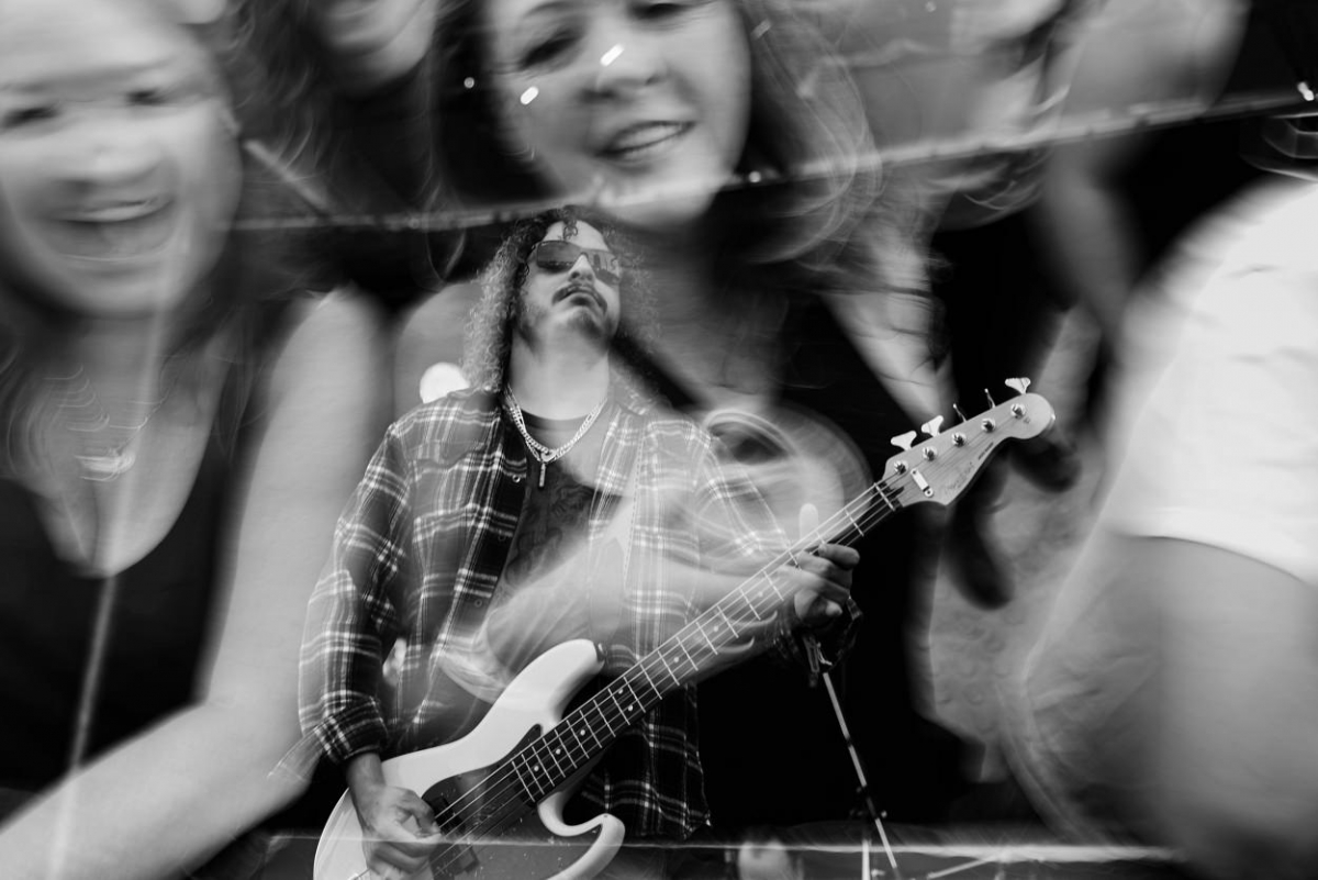 Creative Rifflandia Music Festival Photography by FunkyTown Photography - Using Prisms, Double Exposures and Bokeh