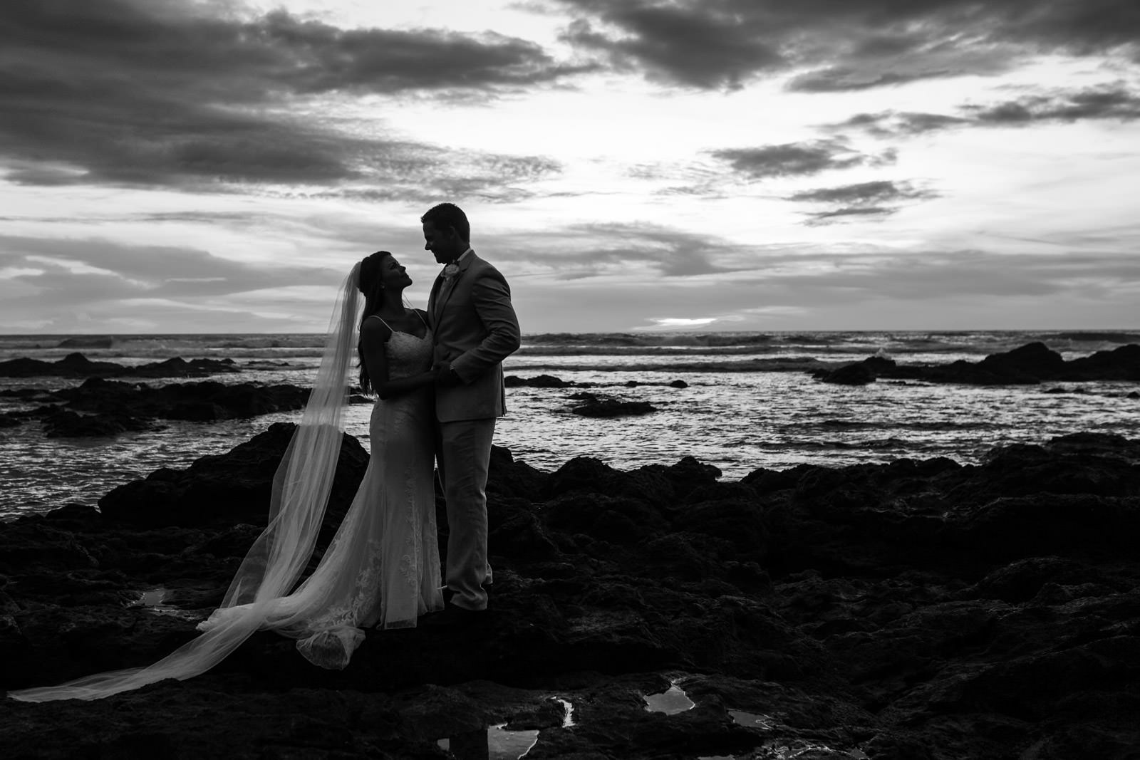 Jackie & Lauren's wedding in Tamarindo at Casa Roca Langosta Beach // Costa Rica Wedding Photographs by FunkyTown Photography