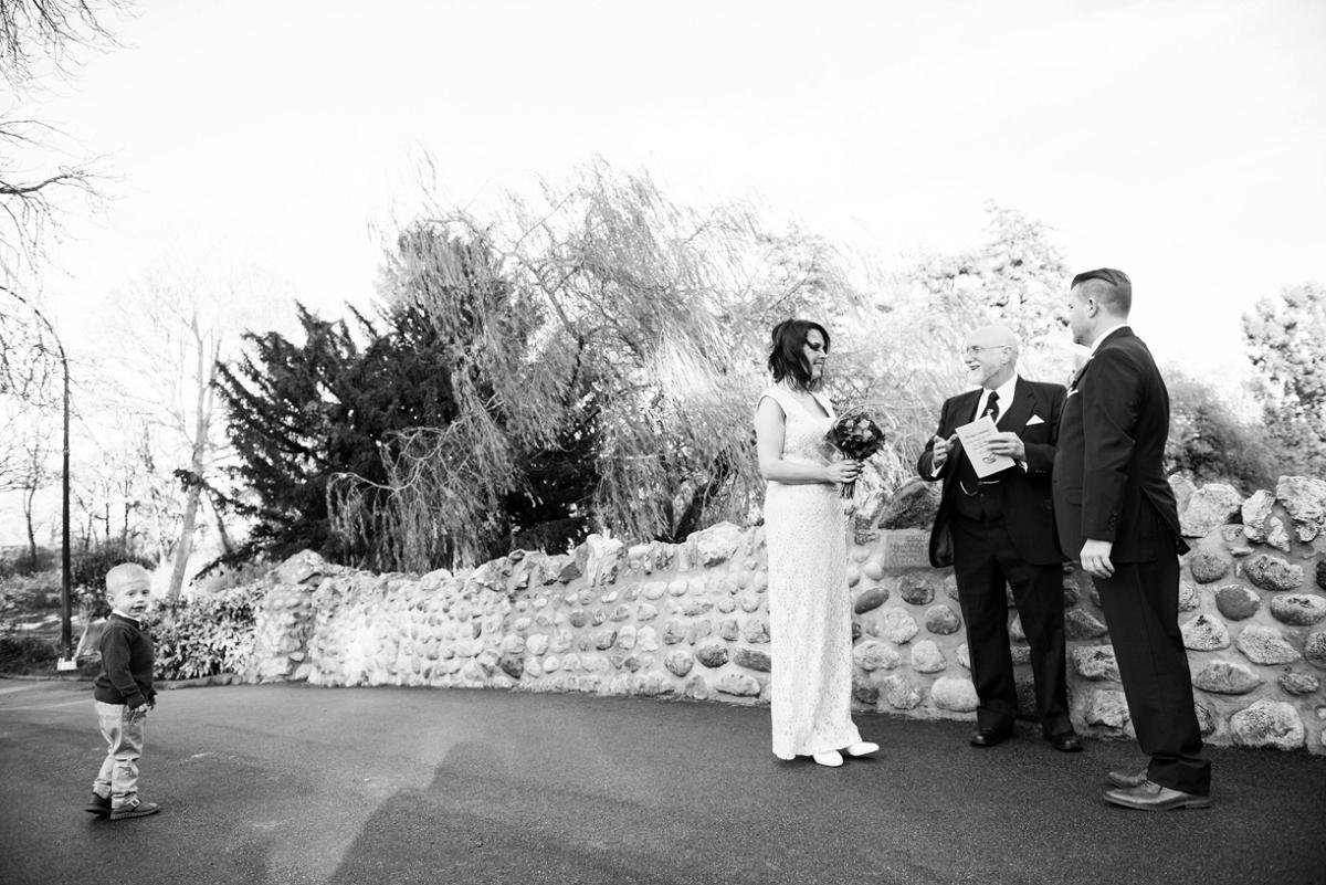 Beacon Hill Park Pop-up Wedding Elopement in Victoria