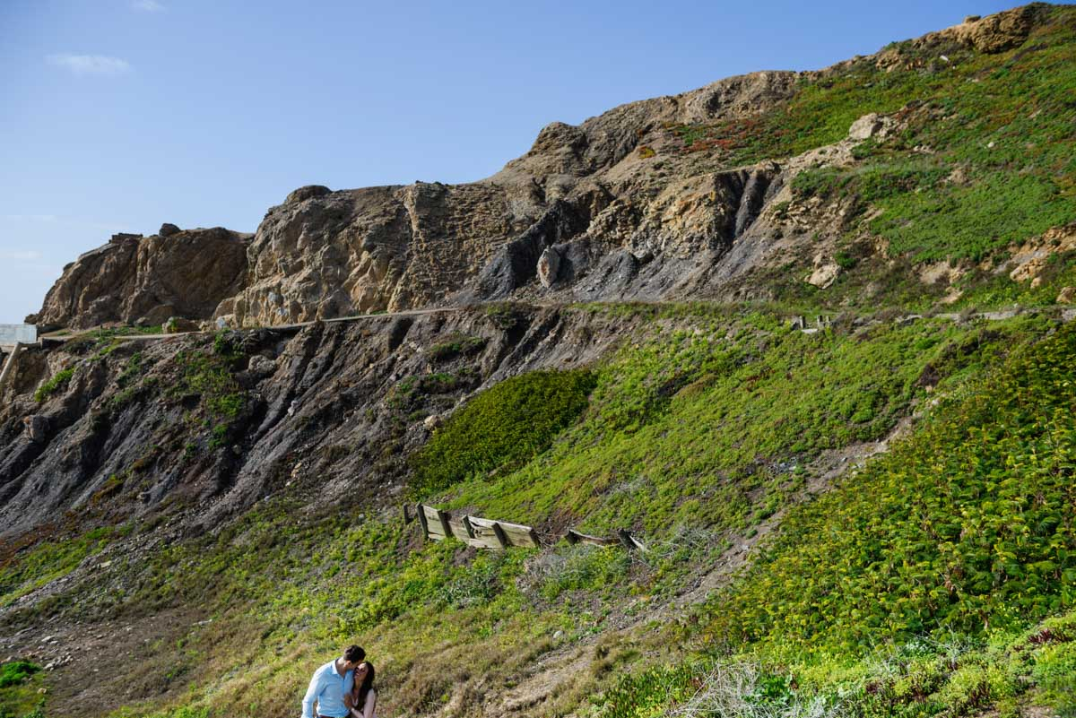 sUTRO Baths Engagement Portraits SFO