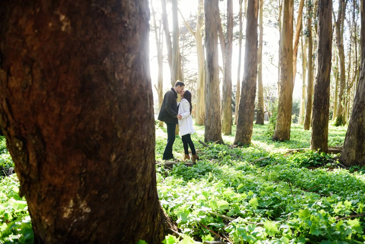 Presidio Engagement Portraits