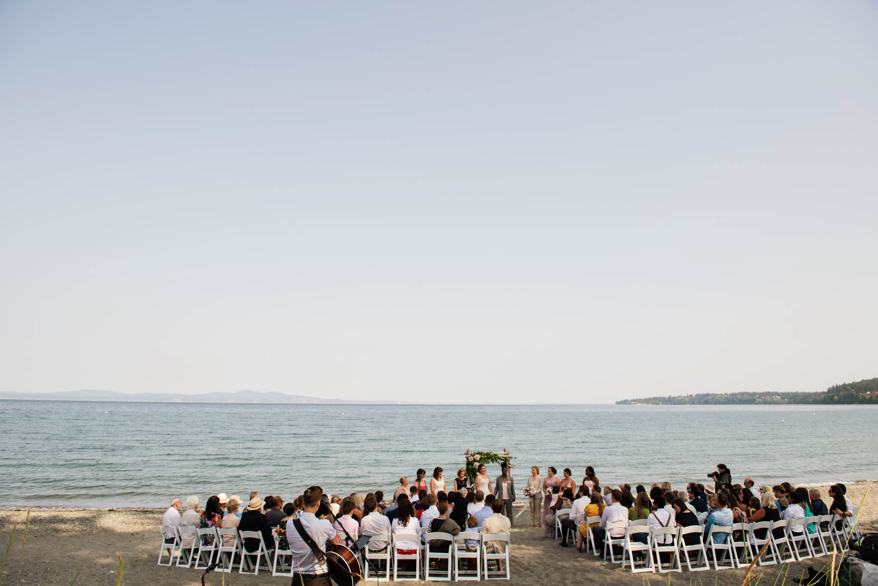 Victoria BC Cadboro Bay The Beach House Wedding by @funkytownphotography Same sex wedding LGBTQ