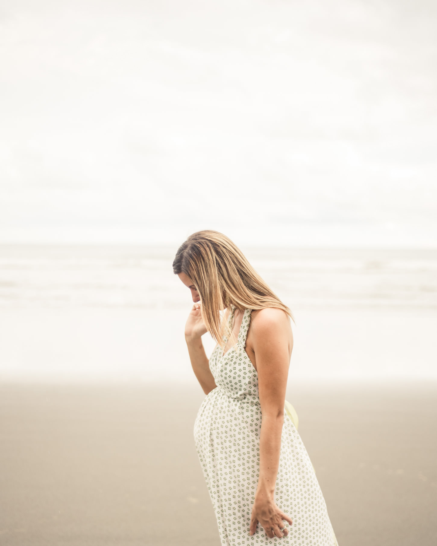 Fine art film maternity portraits by Victoria BC Photographer Christina Craft FunkyTown Photography