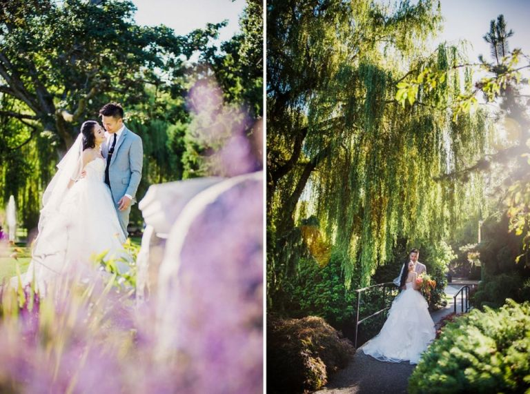 Hayley Paige Gown Beacon Hill Park Wedding Photography Willow Tree