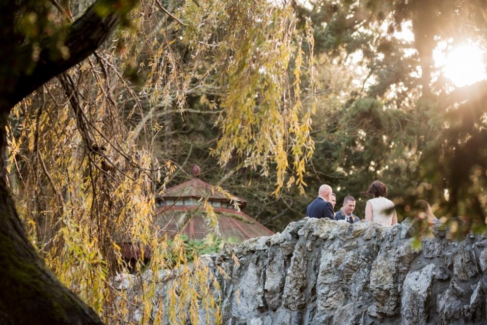 Beacon Hill Park Wedding Photography Stone Bridge