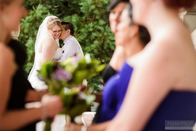 Wedding portraits at Beacon Hill Park