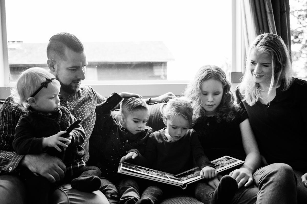 Family Portrait Albums Victoria BC