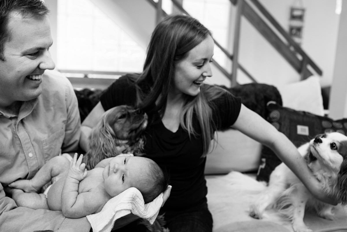 Newborn portrait photographer victoria BC