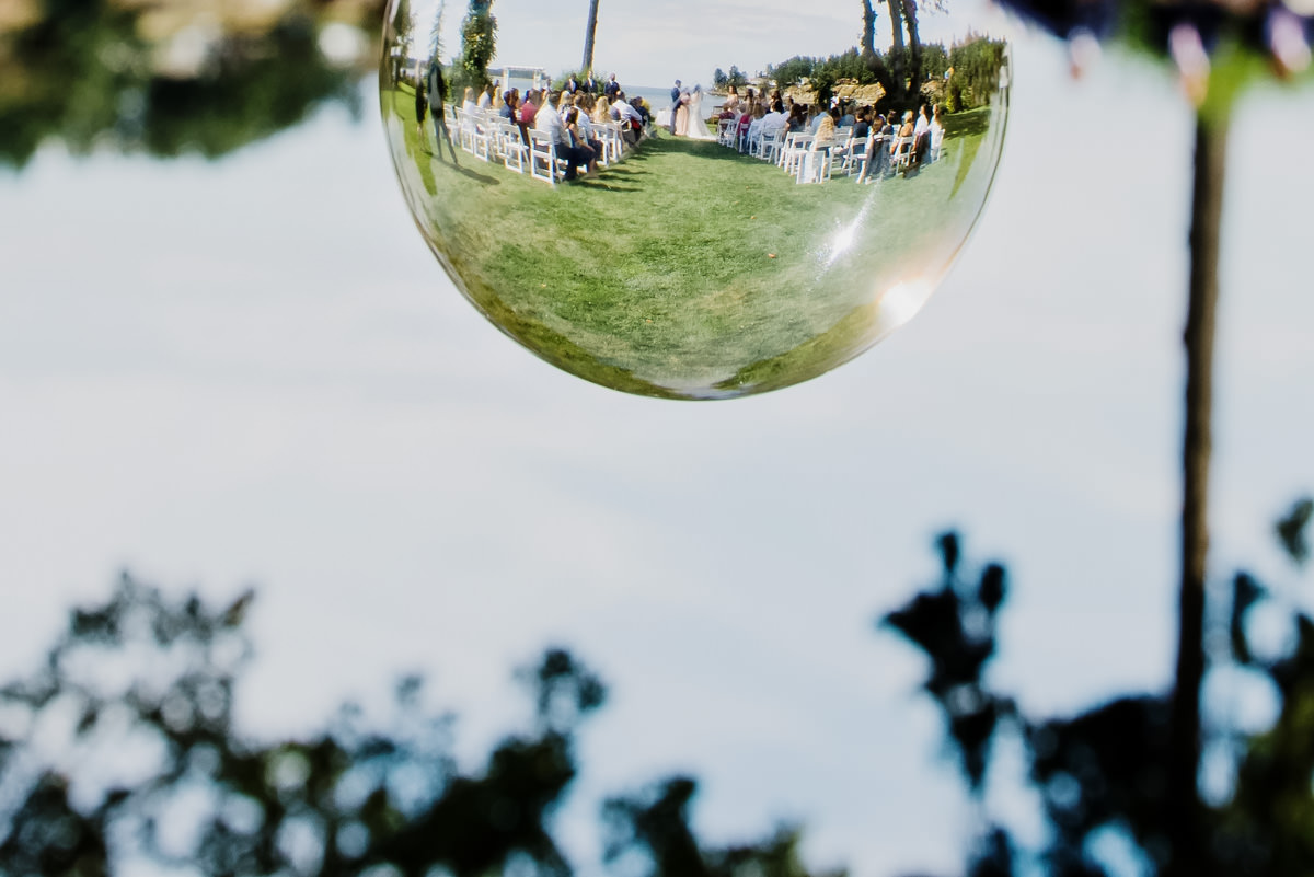 Artistic creative wedding photos Parksville