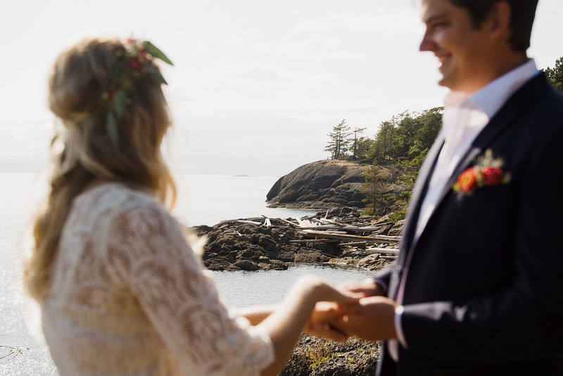 Wedding elopement in Victoria BC & Sidney