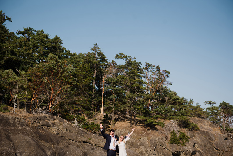 Isle-de-Lis (Rum Island) - gulf island wedding on a private island
