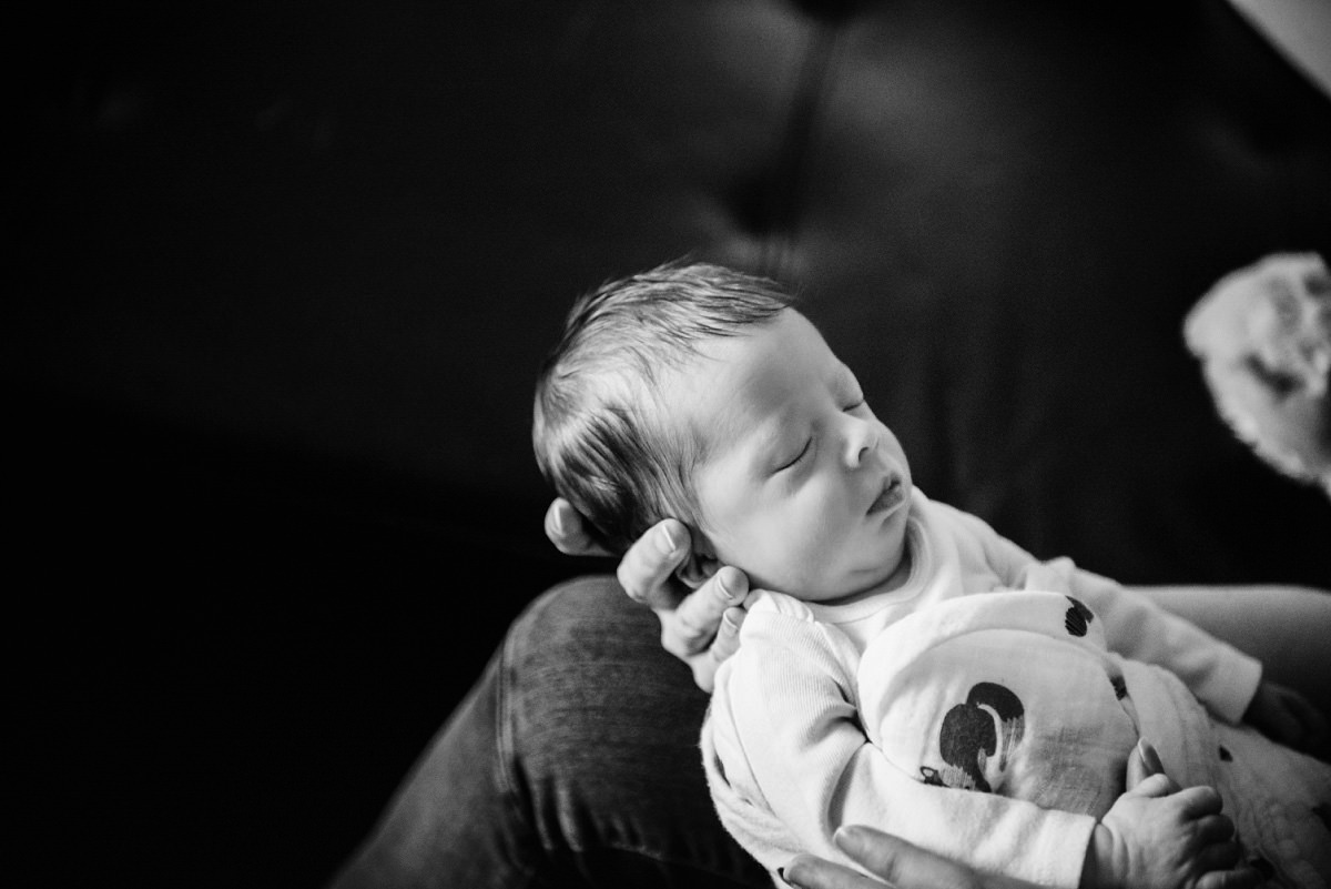 Newborn photography baby portraits Victoria BC natural and candid