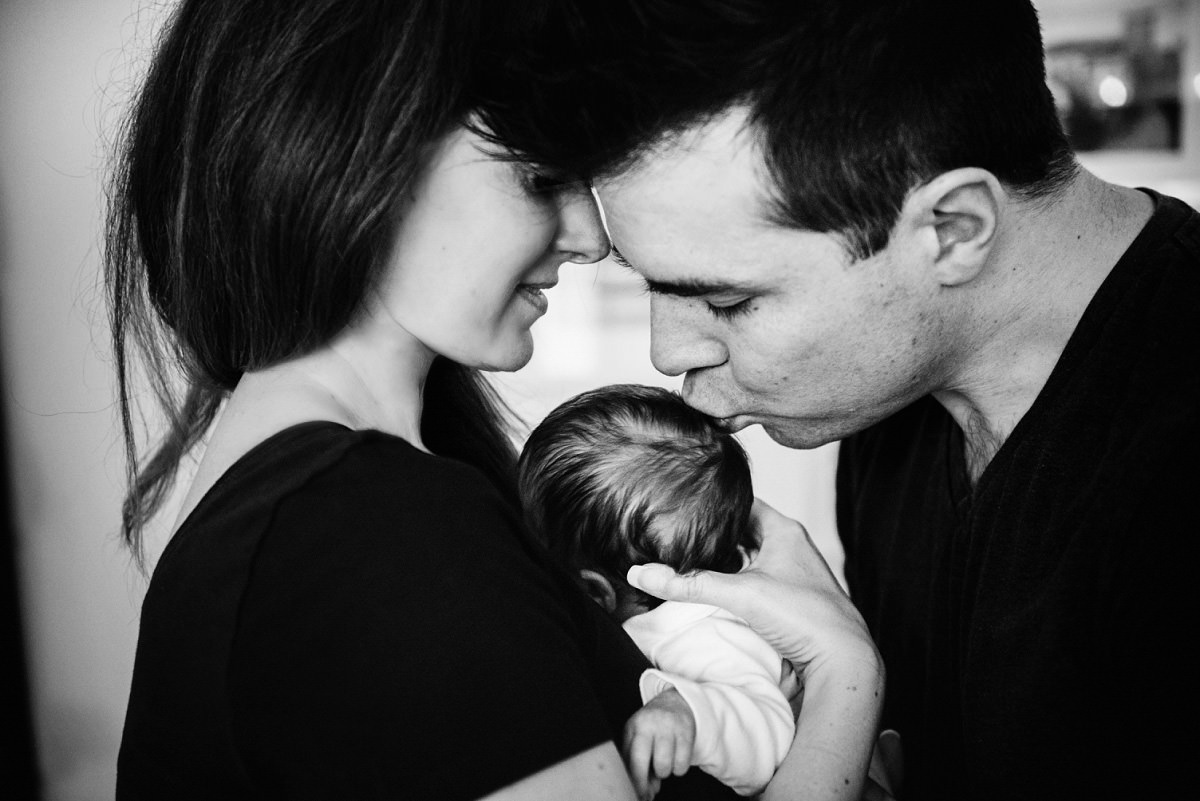 Newborn photography baby portraits Victoria BC natural and candid lifestyle
