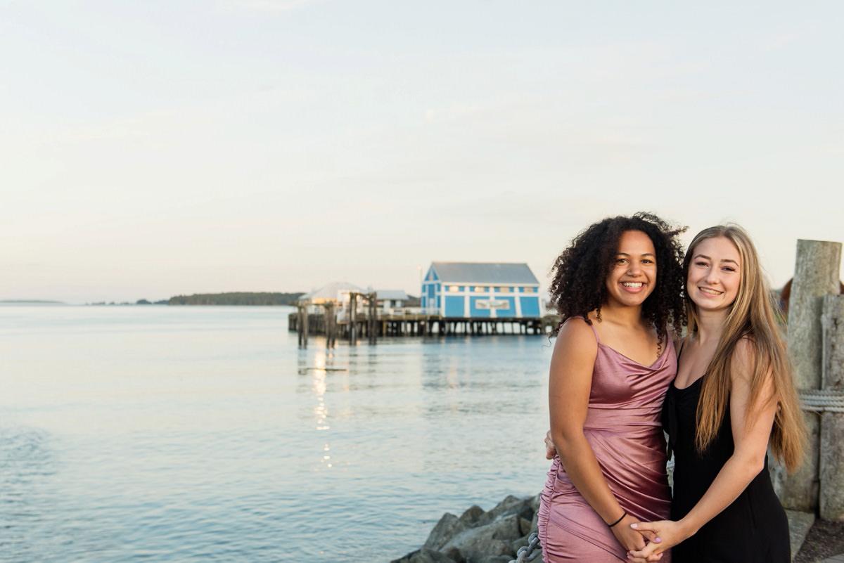2020 Grad Portraits at Sidney Pier in Victoria BC